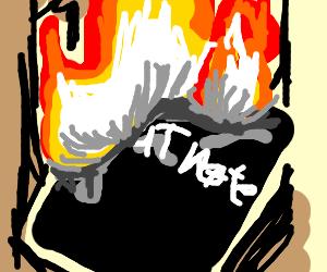 Burning the Deathnotes