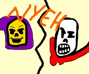Skeletor and Papyrus