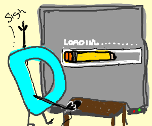 drawception's loading screen