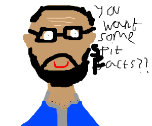 Vsauce Michael excels in going on tangents