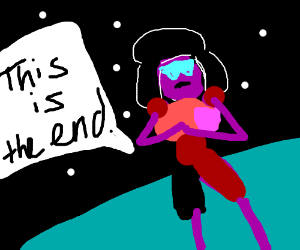 garnet realizing this is the end