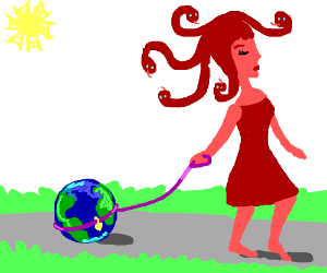 Red Medusa owns the world