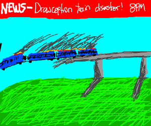 Drawception train derails
