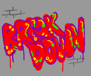 """Breakdown"" graffiti"