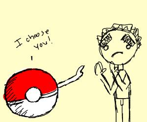 (Pokemon) trainer chooses Persian