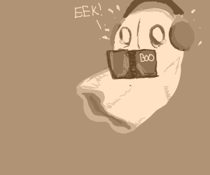 Napstablook reads a scary story