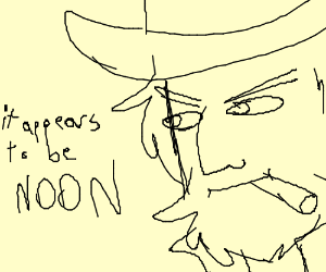 it appears to be noon - mcree