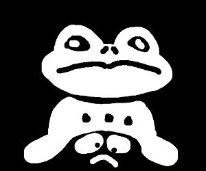 undertale frog