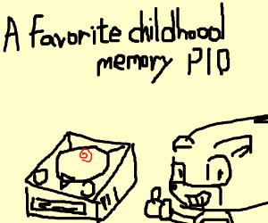 a favorite childhood memory
