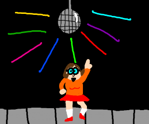 Velma at the disco
