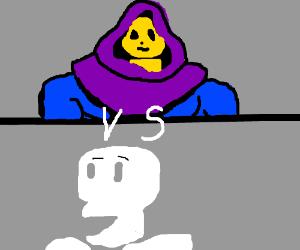 Skeletor and Papyrus - Drawception