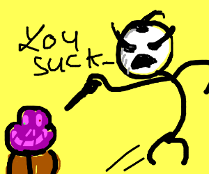 angry man thinks recolour sans sucks