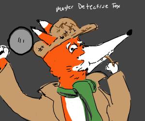 Master Detective is a fox (PIO)