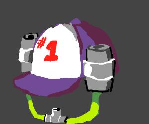 Redneck soda hat