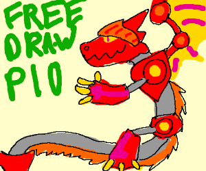 Draw whatever you like PIO