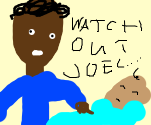 Joel's dad threatens him while he's asleep.