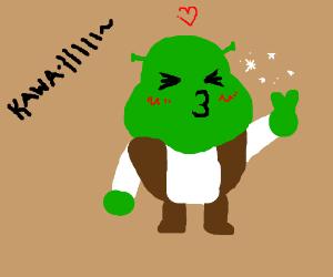 Kawaii Desu Shrek! <3 <3
