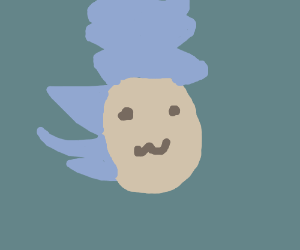 Sonic The Hedgehog With Marge Simpson Hair