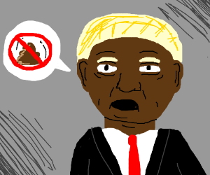Black Trump opposes poop