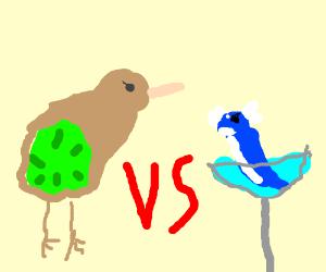Kiwi Kiwi vs Dratini Martini
