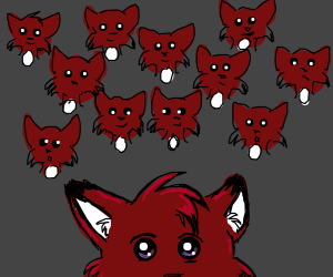 Squadron of foxes