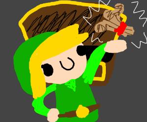 Link has recieved wheat