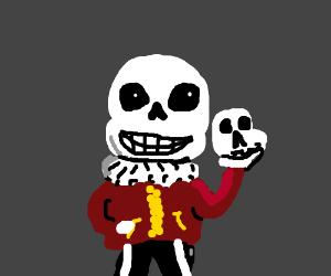 Sans is Hamlet (Shakespeare).