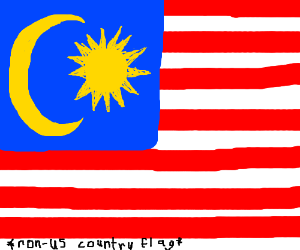Draw any non-US country flag