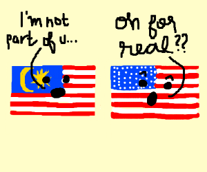 Breaking news! Malaysia is not a US country!