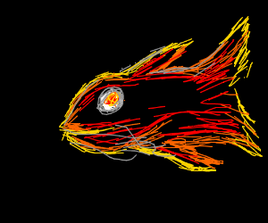 I think i made fish too hardcore