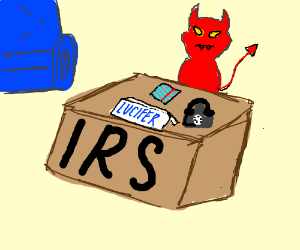 """Lucifer works for the """"IRS"""""""