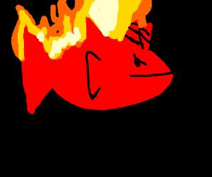 Devil fish BURNS