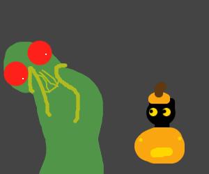 Cthulhu is afraid of Halloween.