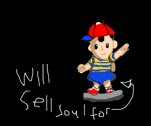 Will sell soul for Ness amiibo