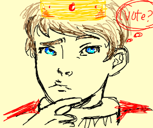 the Prince does not know for who he will vote