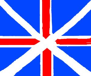 Incorrect British flag