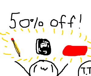 Big student discount