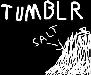 Salt is the most abundant mineral on Tumblr
