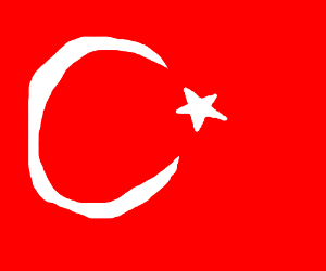 Flag Of Turkey