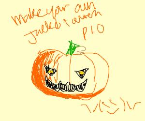 Make your own Jack-o-Lantern PIO (pass it on)