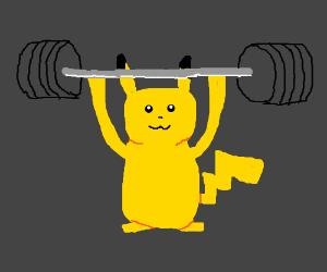 Super strong Pikachu