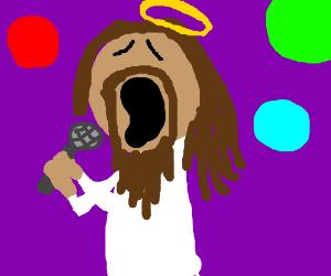 singing jezus