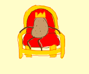 King of the couch potatoes