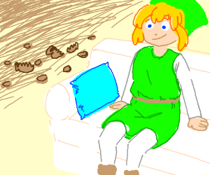 Link goes to Pottery Barn