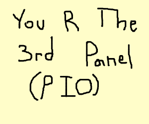 You are the second panel (PIO)