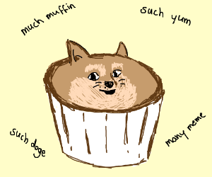 very muffin such doge wow