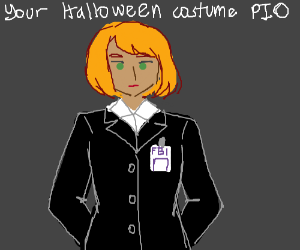Your Halloween costume PIO