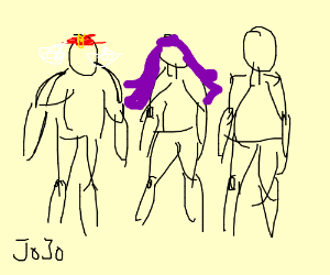 The Pillar Men - Drawception