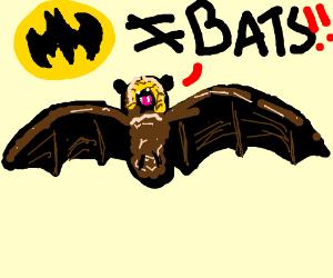 bats don't like batman stealing their image