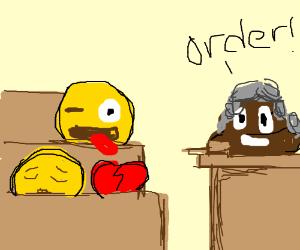 emoji courtroom